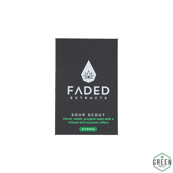 Sour Scout Shatter by Faded Extracts by Green Society - Image © 2018 Green Society. All Rights Reserved.