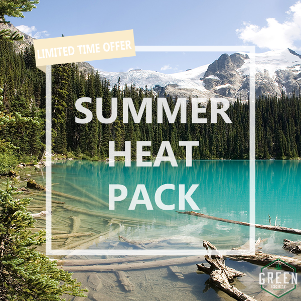 Green Society Summer Heat Pack by Green Society - Image © 2018 Green Society. All Rights Reserved.
