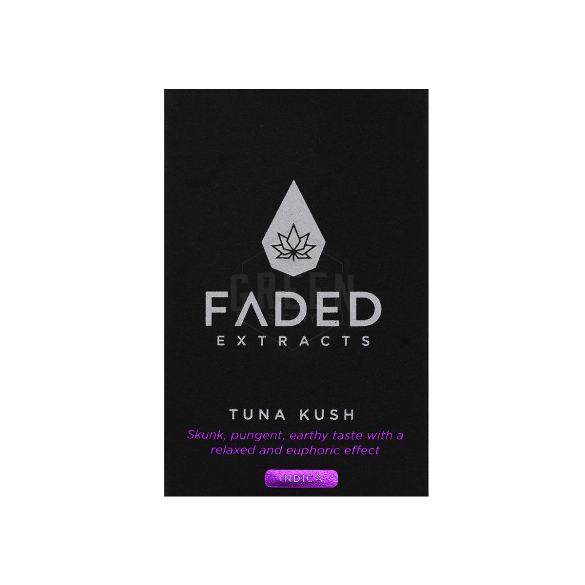 Tuna Kush Shatter by Faded Extracts by Green Society - Image © 2018 Green Society. All Rights Reserved.
