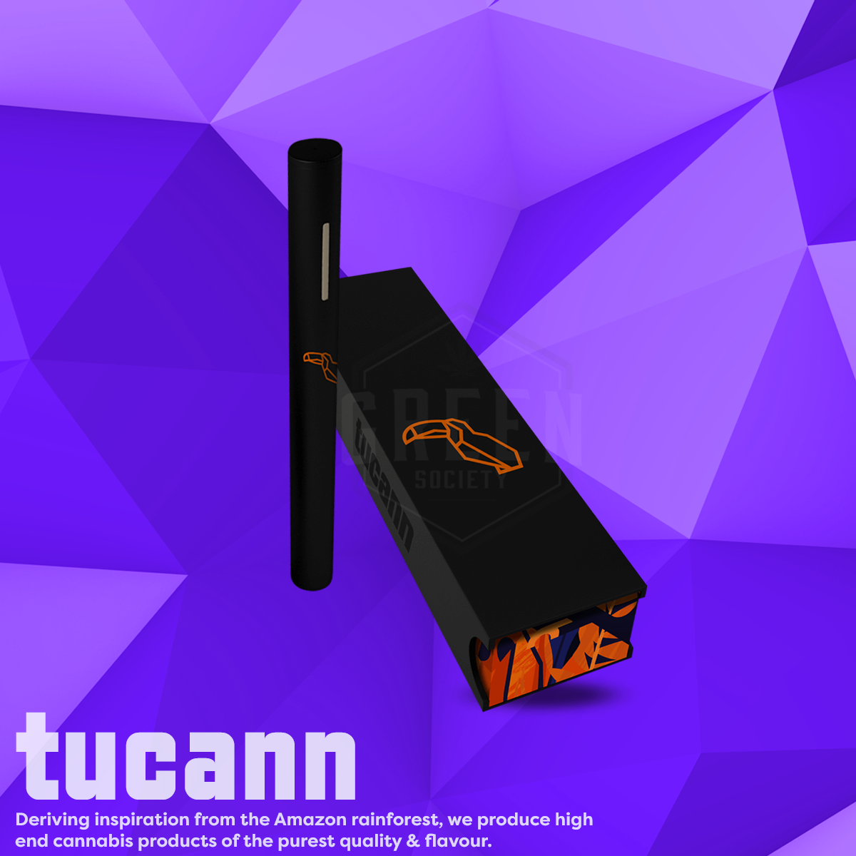 Tucann Distillate Vaporizer Pens by Green Society - Image © 2018 Green Society. All Rights Reserved.