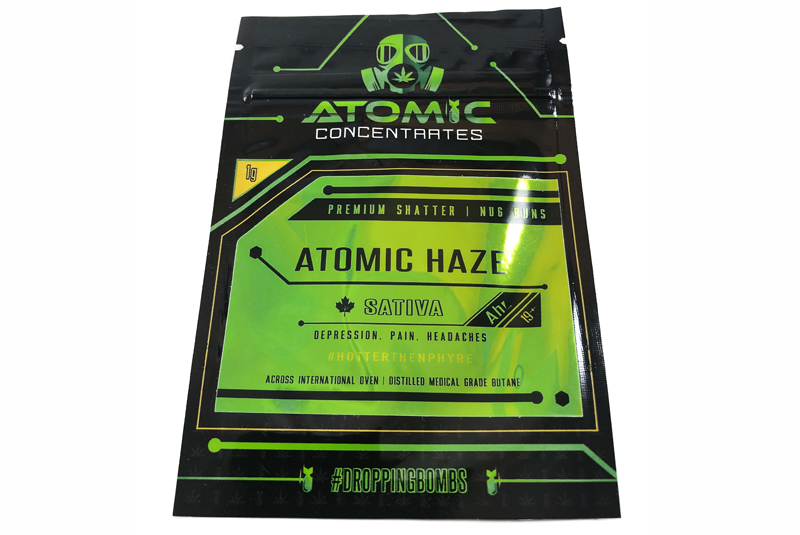 Atomic Haze Shatter by Atomic Concentrates by Green Society - Image © 2018 Green Society. All Rights Reserved.