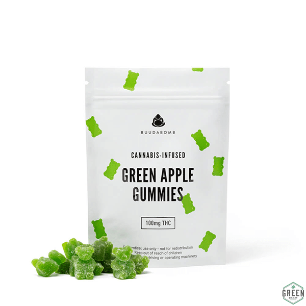 Buuda Bomb Gummies by Green Society - Image © 2018 Green Society. All Rights Reserved.
