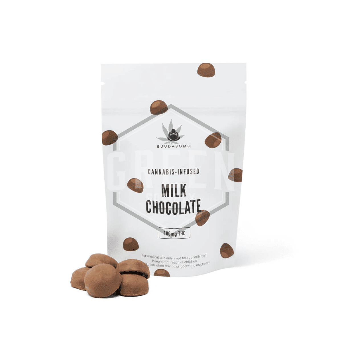Milk Chocolates by Buuda Bomb by Green Society - Image © 2018 Green Society. All Rights Reserved.