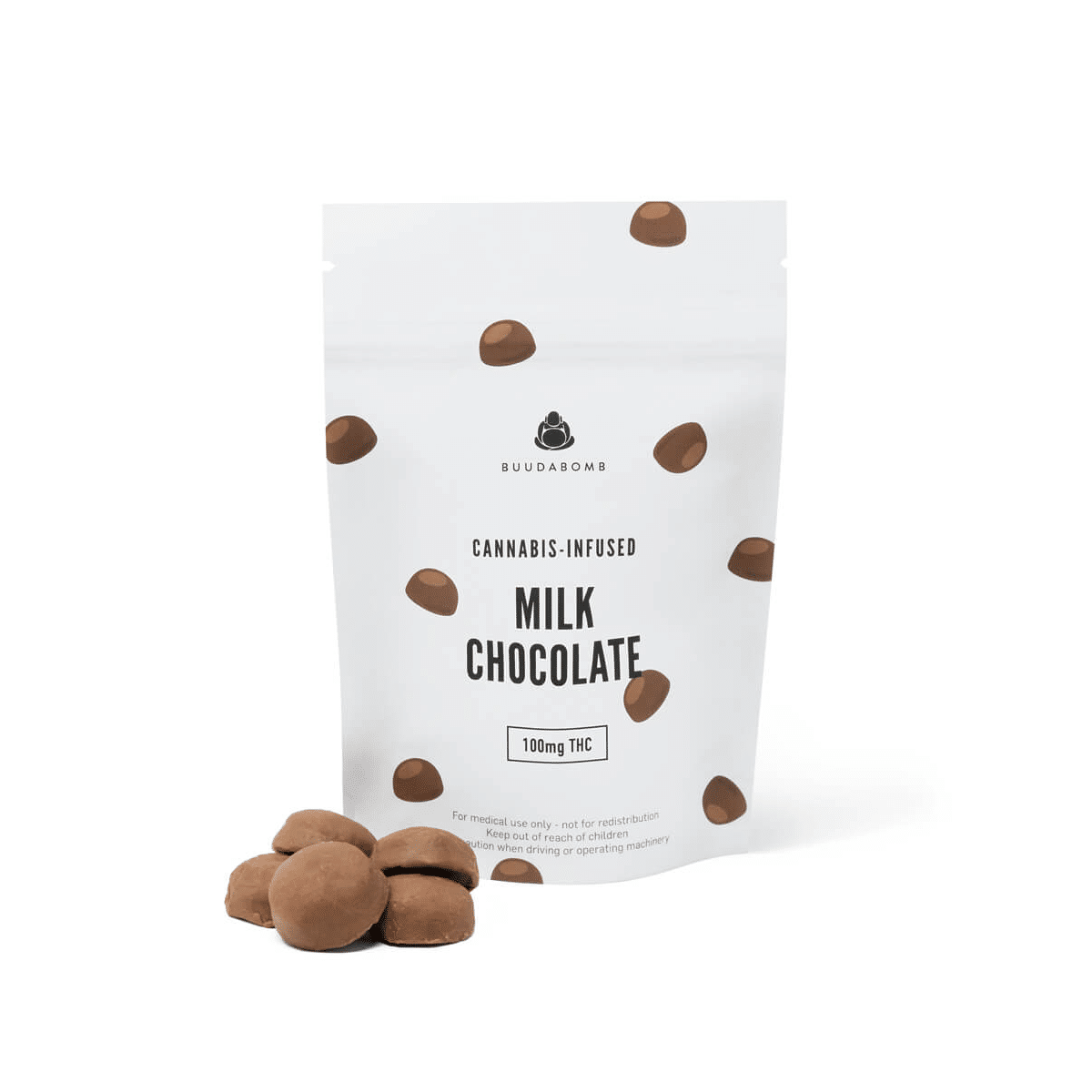 Buuda Bomb Milk Chocolates by Green Society - Image © 2018 Green Society. All Rights Reserved.