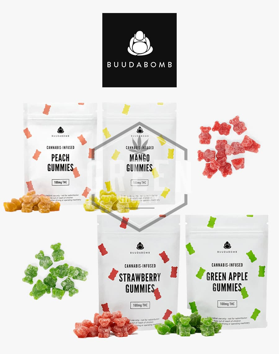 Gummies by Buuda Bomb by Green Society - Image © 2018 Green Society. All Rights Reserved.