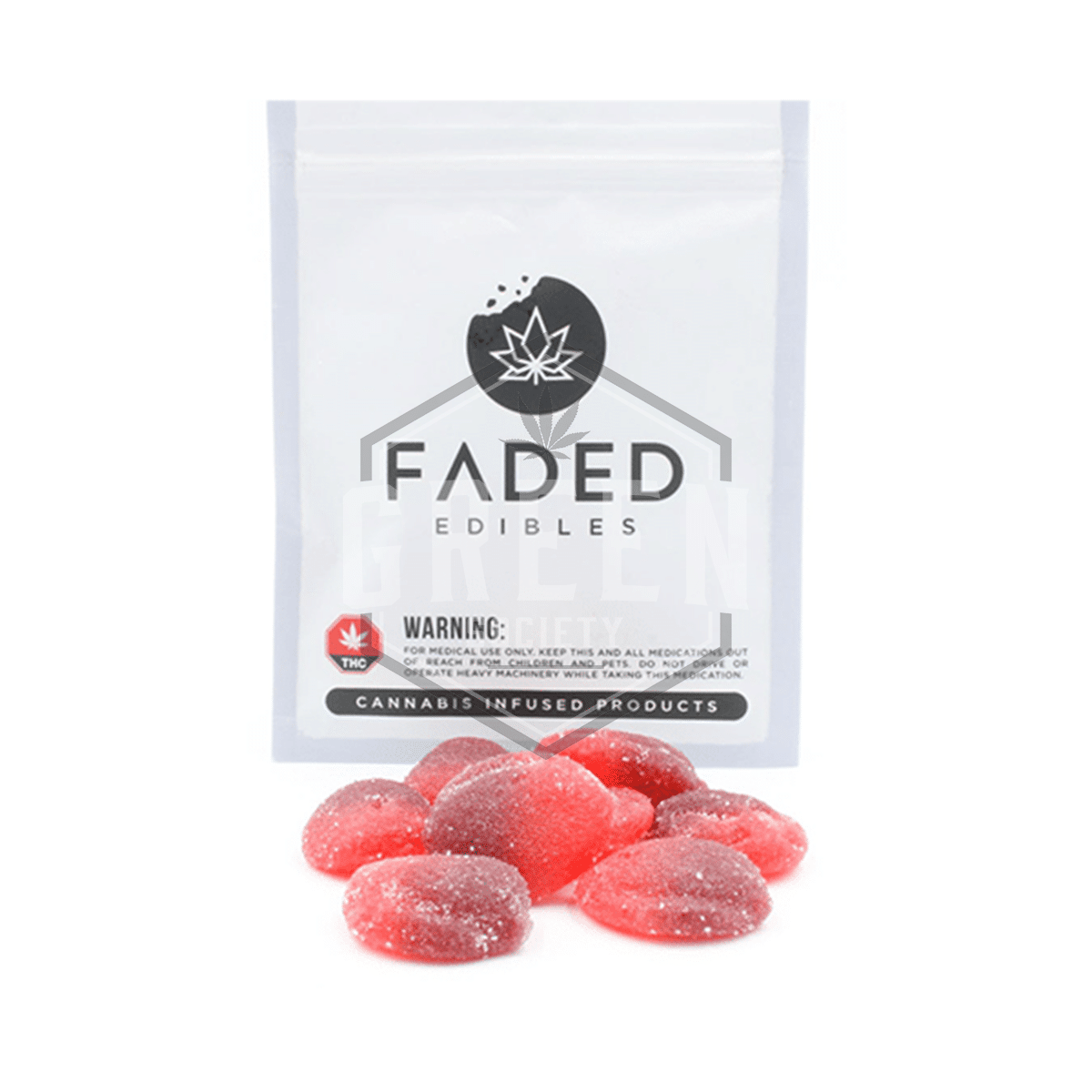 Cherry Bombs by Faded Cannabis Co. by Green Society - Image © 2020 Green Society. All Rights Reserved.