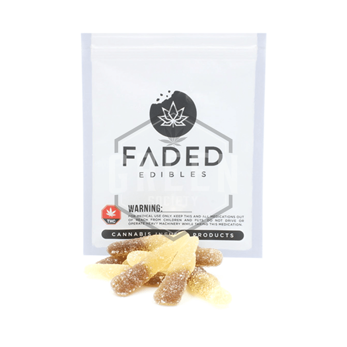 Fizzy Colas by Faded Cannabis Co. by Green Society - Image © 2018 Green Society. All Rights Reserved.