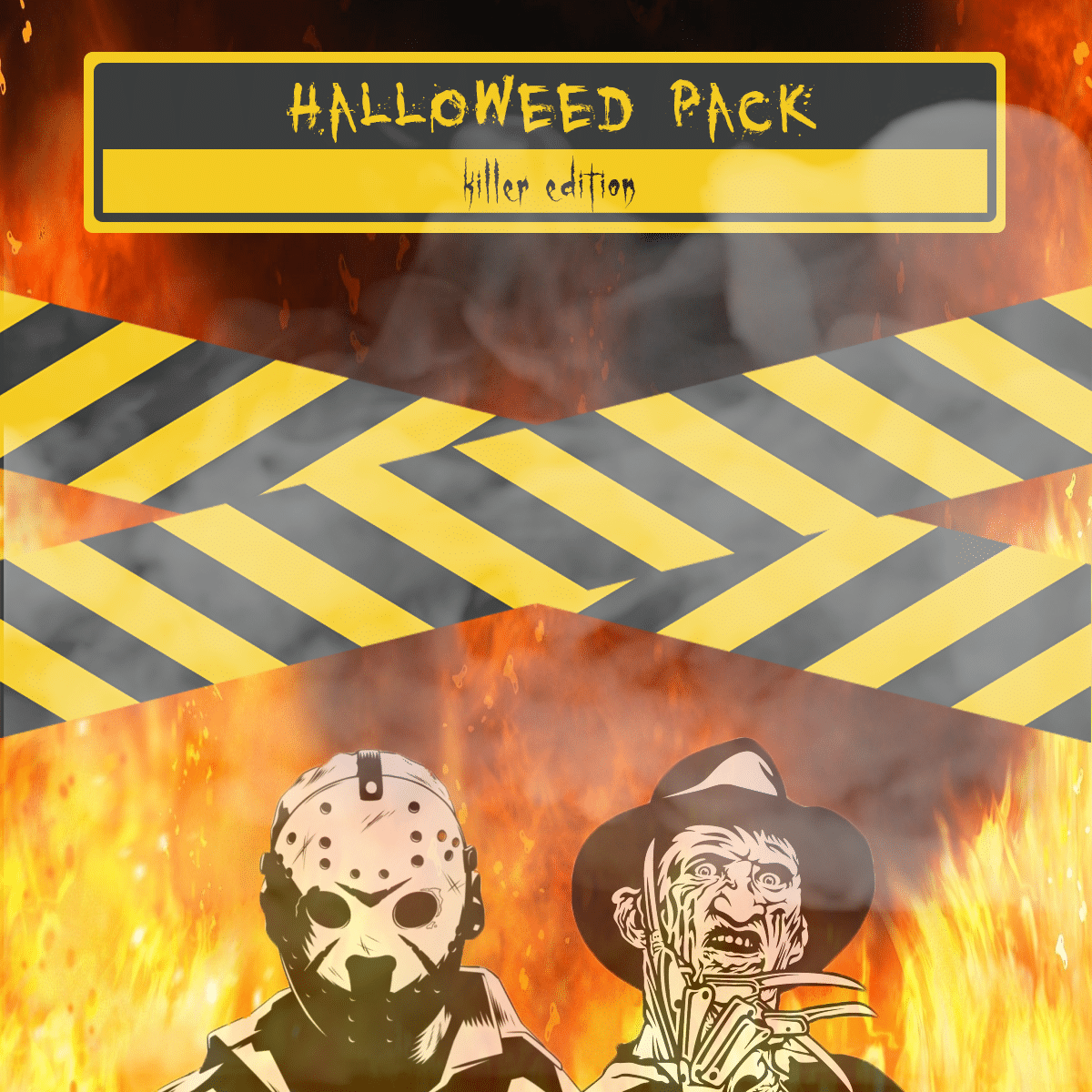 Halloweed Pack: Killer Edition by Green Society - Image © 2018 Green Society. All Rights Reserved.