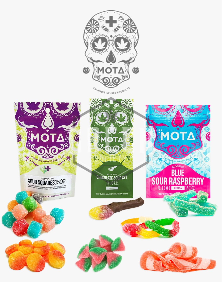 Sour Gummies by MOTA Cannabis by Green Society - Image © 2018 Green Society. All Rights Reserved.