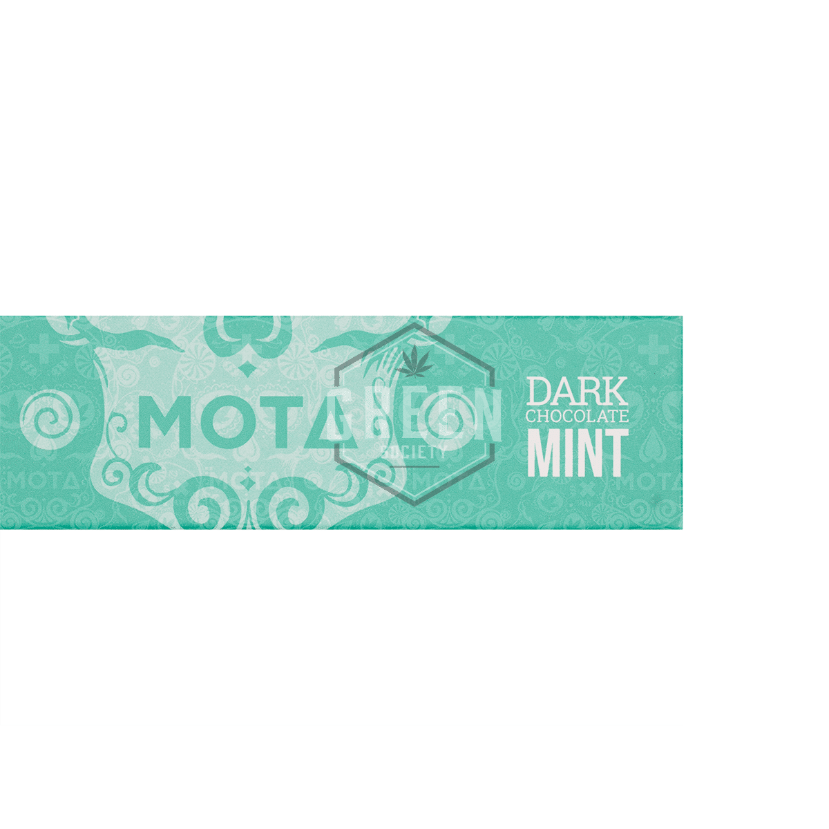 Mint Dark Chocolate Bar by MOTA Cannabis by Green Society - Image © 2018 Green Society. All Rights Reserved.