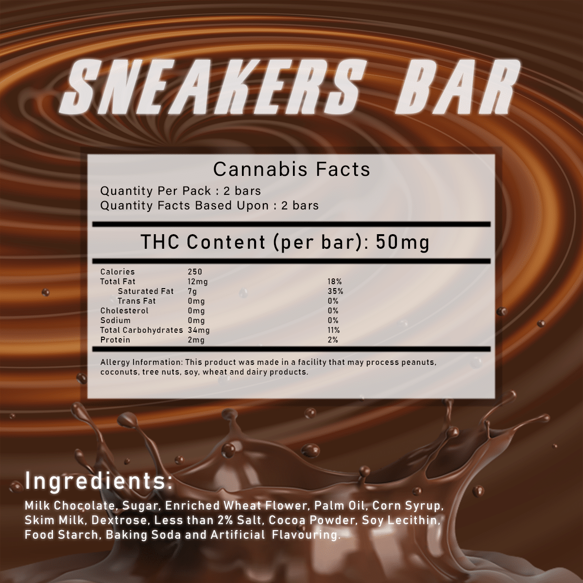 Sneakers Bar by Herbivores Edibles by Green Society - Image © 2018 Green Society. All Rights Reserved.