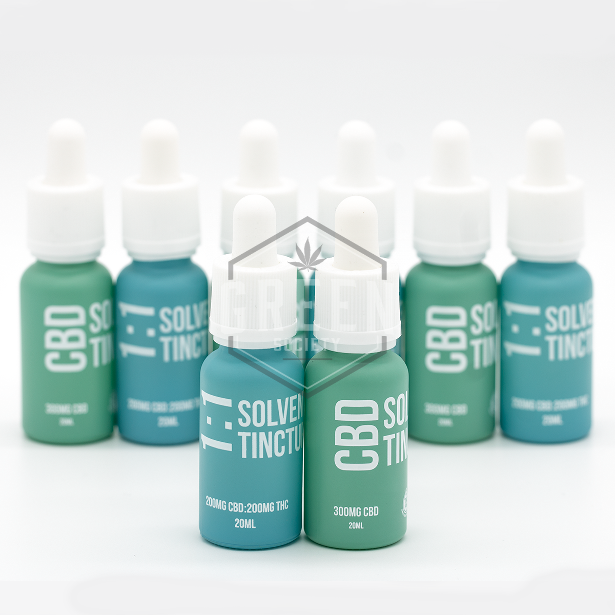 Solvent-Free CBD Tinctures by Miss Envy by Green Society - Image © 2018 Green Society. All Rights Reserved.