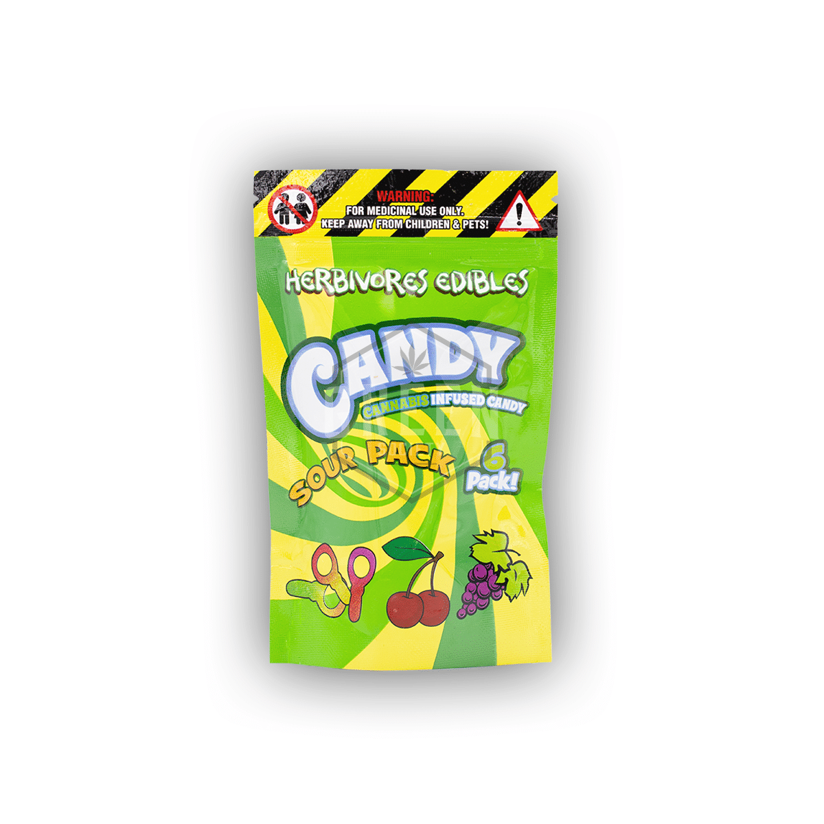 Sour Pack by Herbivores Edibles by Green Society - Image © 2018 Green Society. All Rights Reserved.