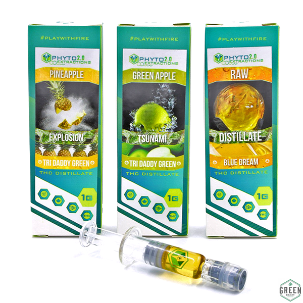 THC Distillate by Phyto Extractions by Green Society - Image © 2018 Green Society. All Rights Reserved.