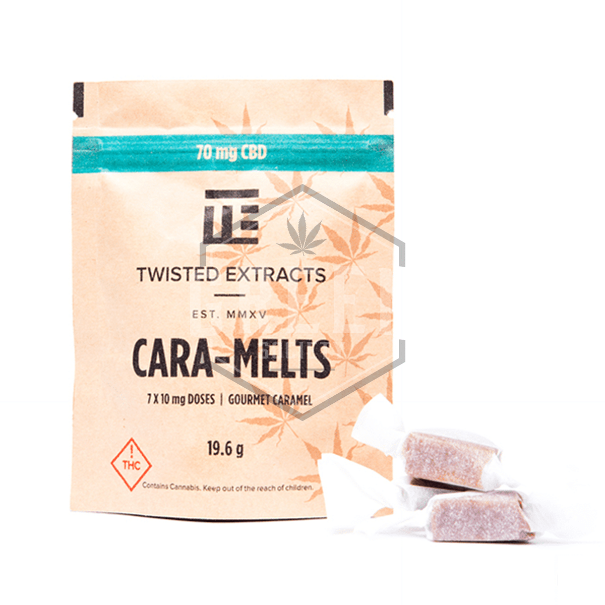 CBD Cara-Melts by Twisted Extracts by Green Society - Image © 2018 Green Society. All Rights Reserved.