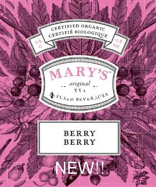 Marys Java Berry Berry Tea by Green Society - Image © 2018 Green Society. All Rights Reserved.