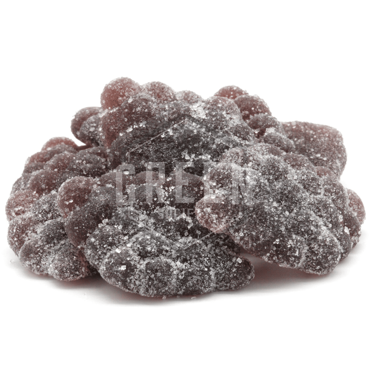 Grape Crush Gummies by Faded Cannabis Co. by Green Society - Image © 2018 Green Society. All Rights Reserved.