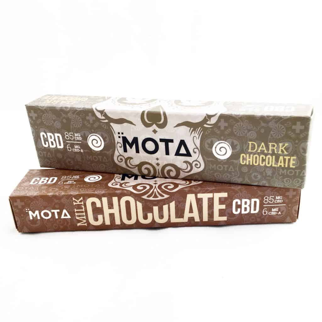 Mota Cannabis Chocolates by Green Society - Image © 2018 Green Society. All Rights Reserved.
