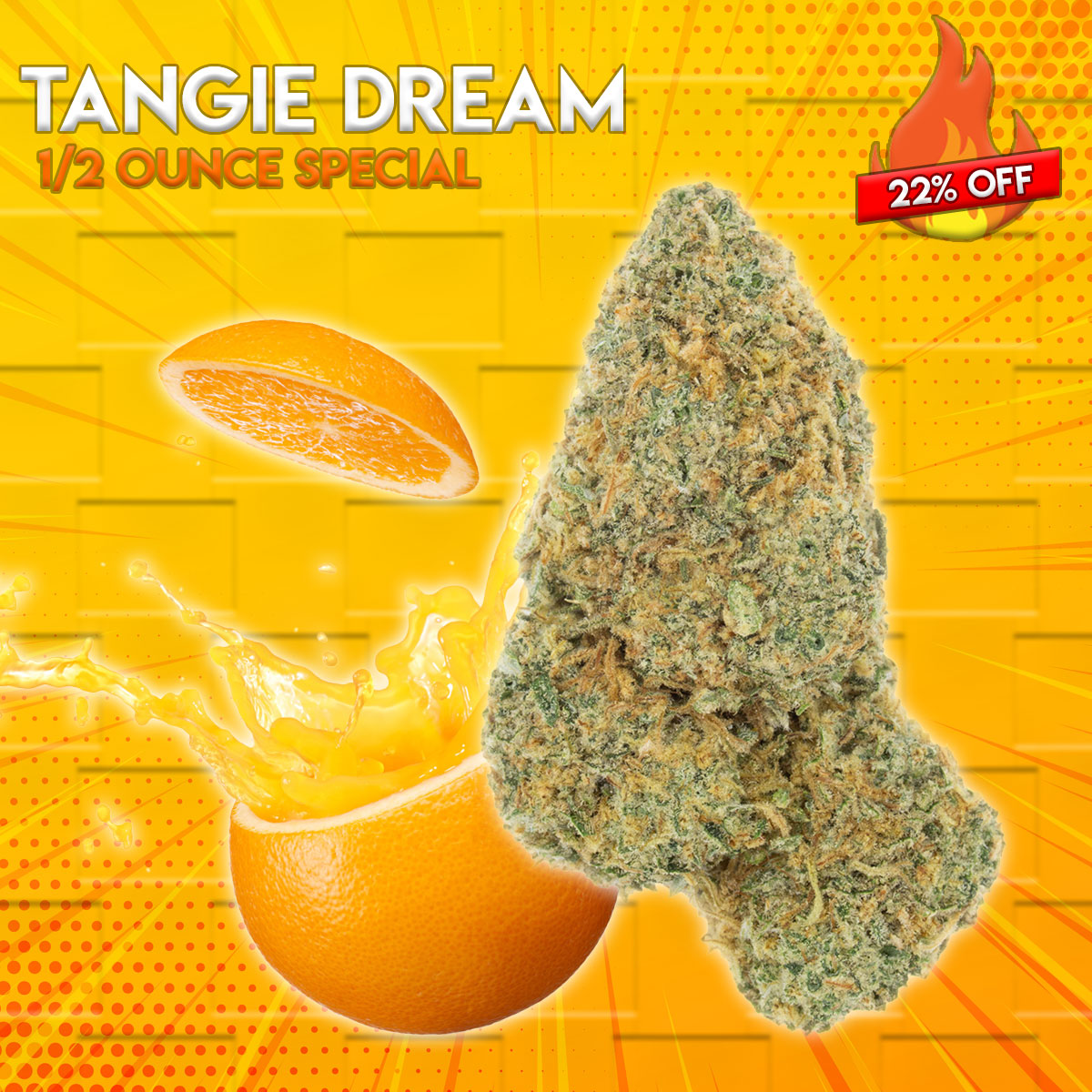 Tangie Dream 1/2 Ounce Special by Green Society - Image © 2018 Green Society. All Rights Reserved.