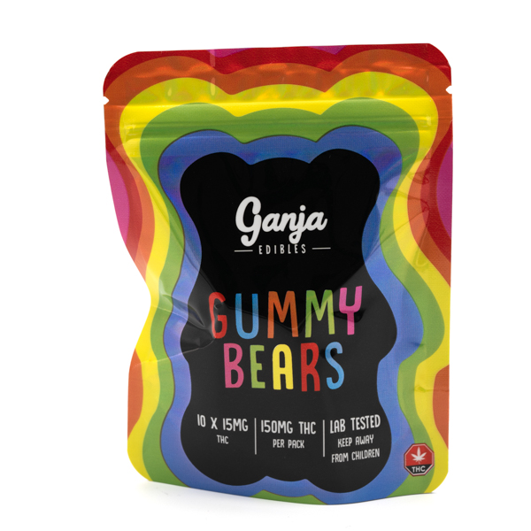 Gummy Bears (Ganja Edibles) Assorted by Kootenay Botanicals - Image © 2020 Kootenay Botanicals. All Rights Reserved.