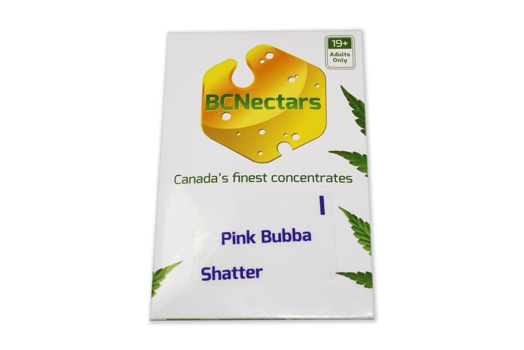 BC Nectars Pink Bubba Shatter by The Chrono - Image © 2020 The Chrono. All Rights Reserved.