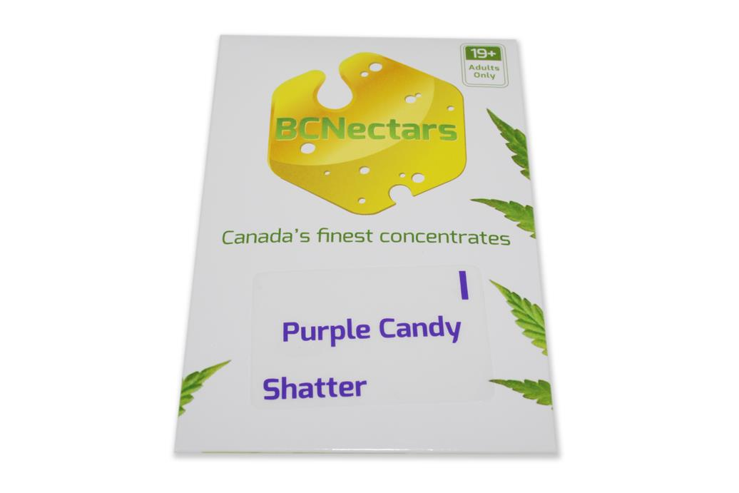 BC Nectar Purple Candy Shatter by The Chrono - Image © 2018 The Chrono. All Rights Reserved.