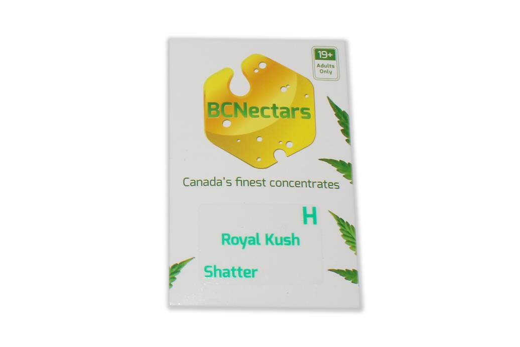 BC Nectars Royal Kush Shatter by The Chrono - Image © 2020 The Chrono. All Rights Reserved.
