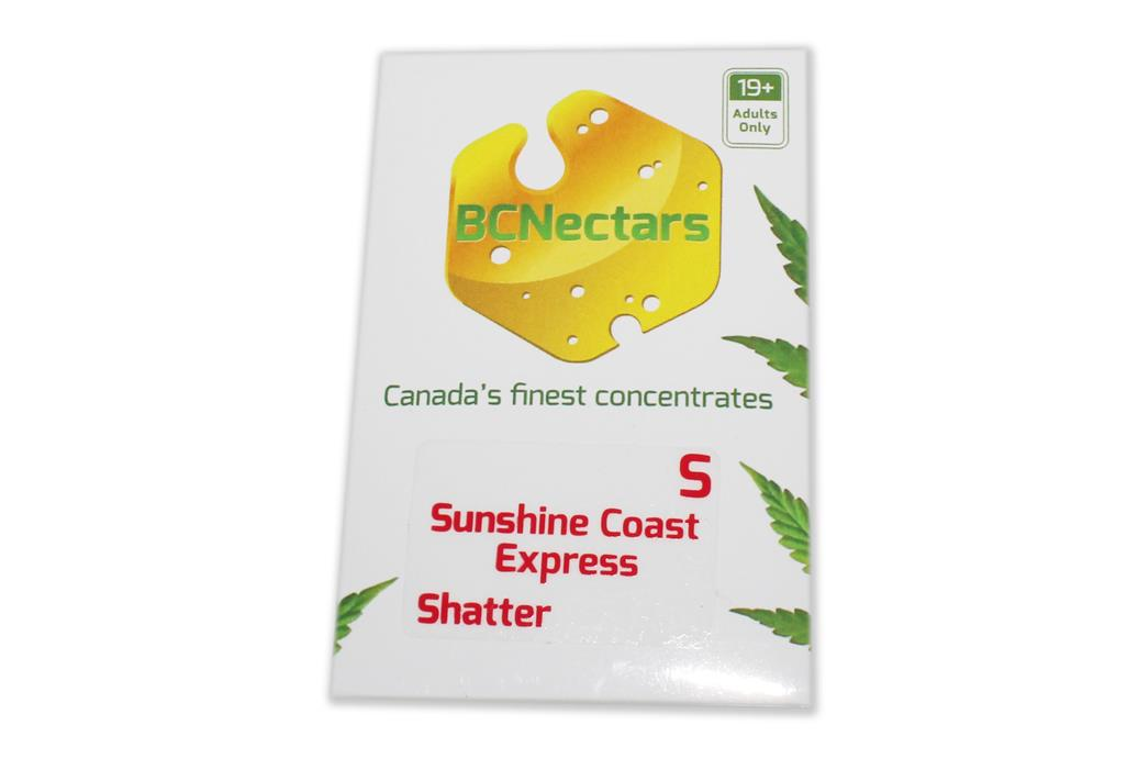 BC Nectars Sunshine Coast Express Shatter by The Chrono - Image © 2018 The Chrono. All Rights Reserved.
