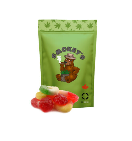 Smokeys Cannabis Lounge -Smokey Trail Mix Gummies by The Chrono - Image © 2020 The Chrono. All Rights Reserved.