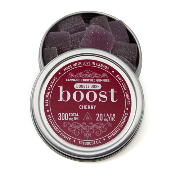 Boost Gummies 300mg THC (15x20mg) by The Chrono - Image © 2020 The Chrono. All Rights Reserved.