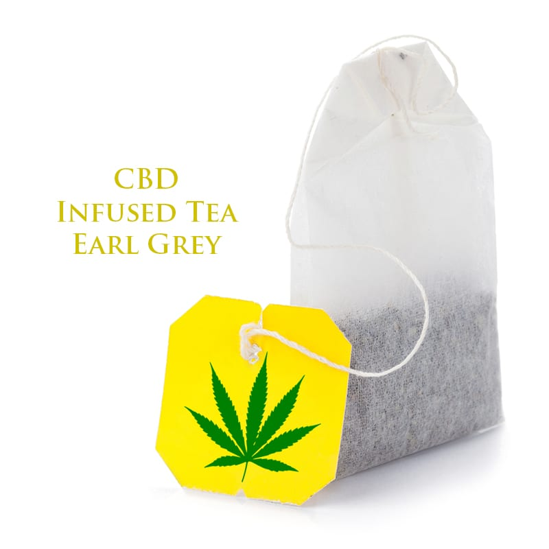 CBD Infused TEA Earl Grey by The Chrono - Image © 2020 The Chrono. All Rights Reserved.