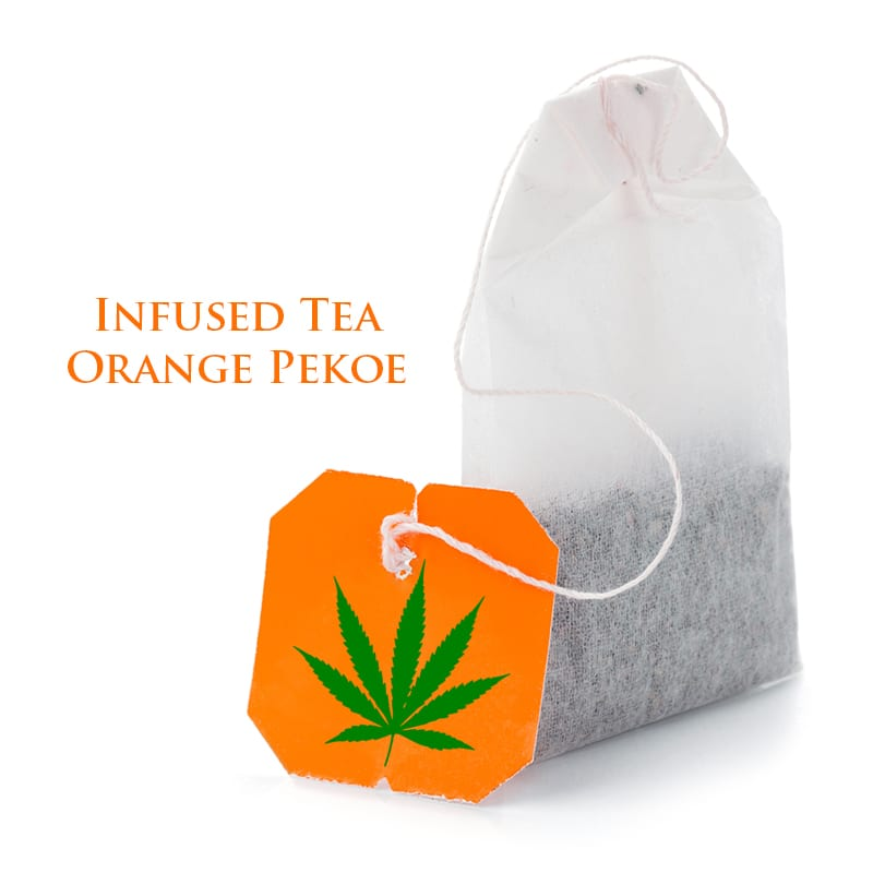 CBD Infused TEA Orange Pekoe by The Chrono - Image © 2020 The Chrono. All Rights Reserved.