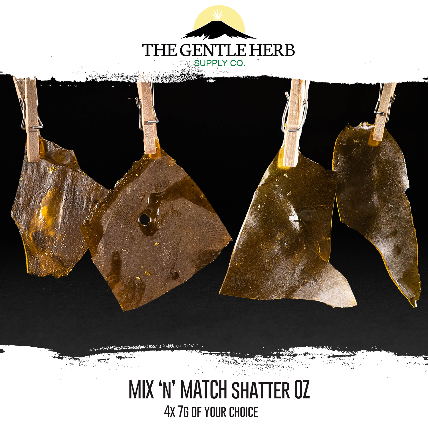 Mix n Match House Shatter Oz by The Gentle Herb - Image © 2018 The Gentle Herb. All Rights Reserved.