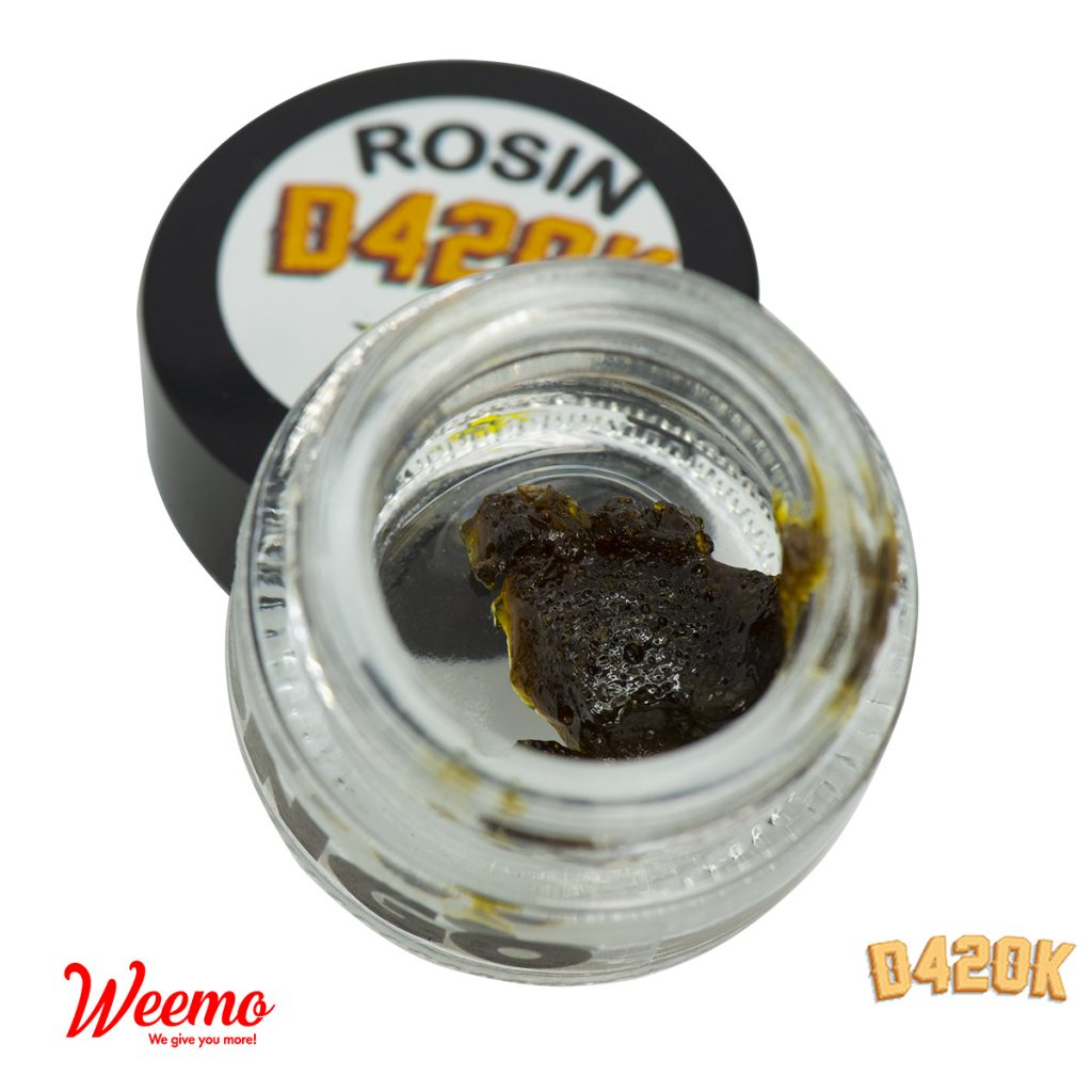 D420K Rosin by Weemo - Image © 2019 Weemo. All Rights Reserved.