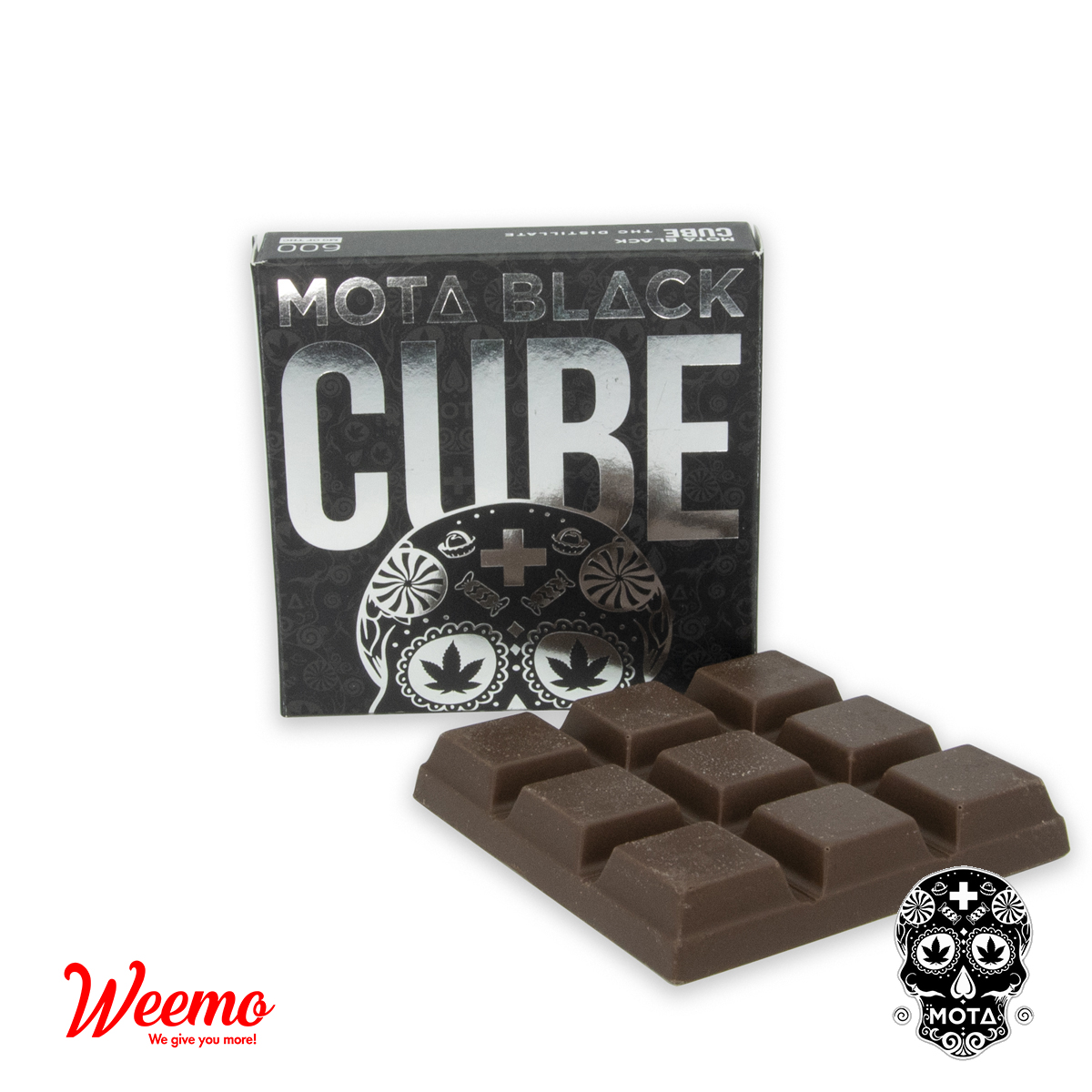 MOTA Chocolate Cubes by Weemo - Image © 2019 Weemo. All Rights Reserved.