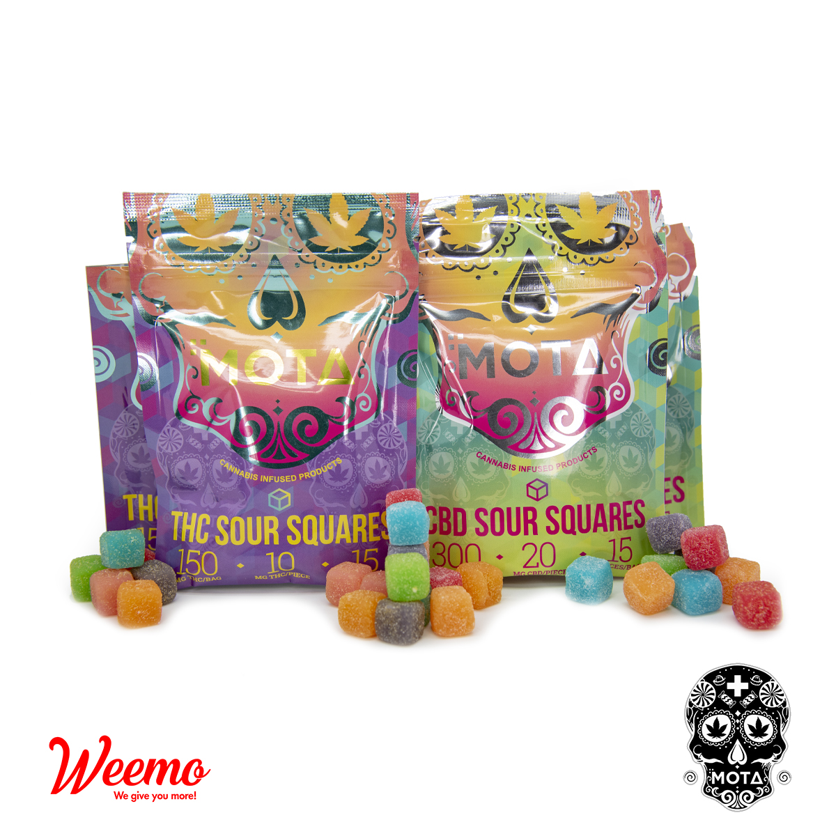 MOTA Sour Squares by Weemo - Image © 2020 Weemo. All Rights Reserved.