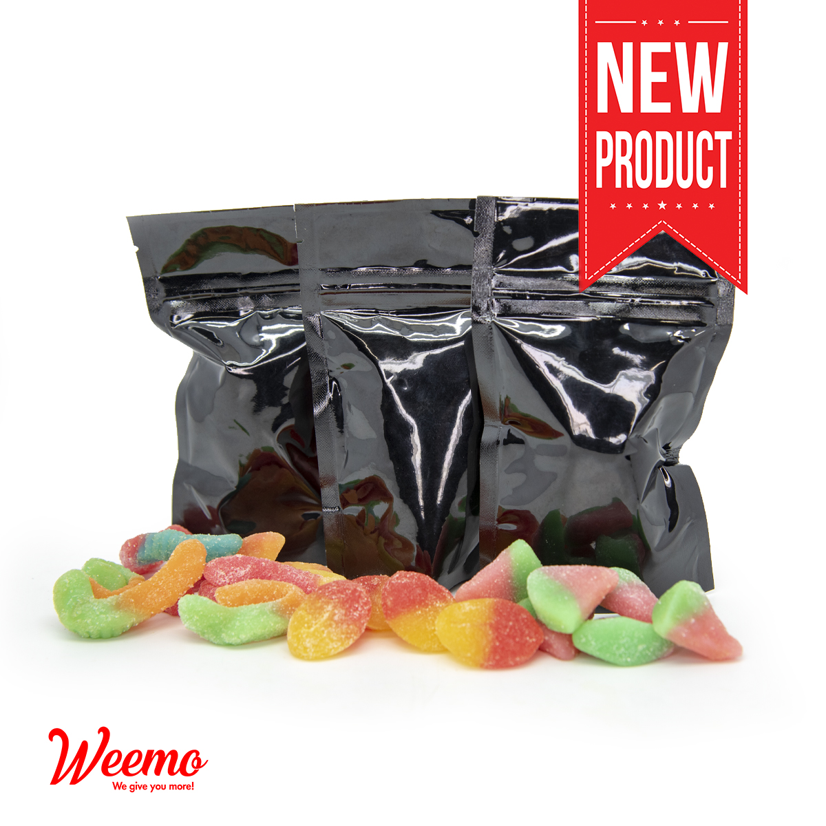 Medicated Gummies 500mg by Weemo - Image © 2019 Weemo. All Rights Reserved.