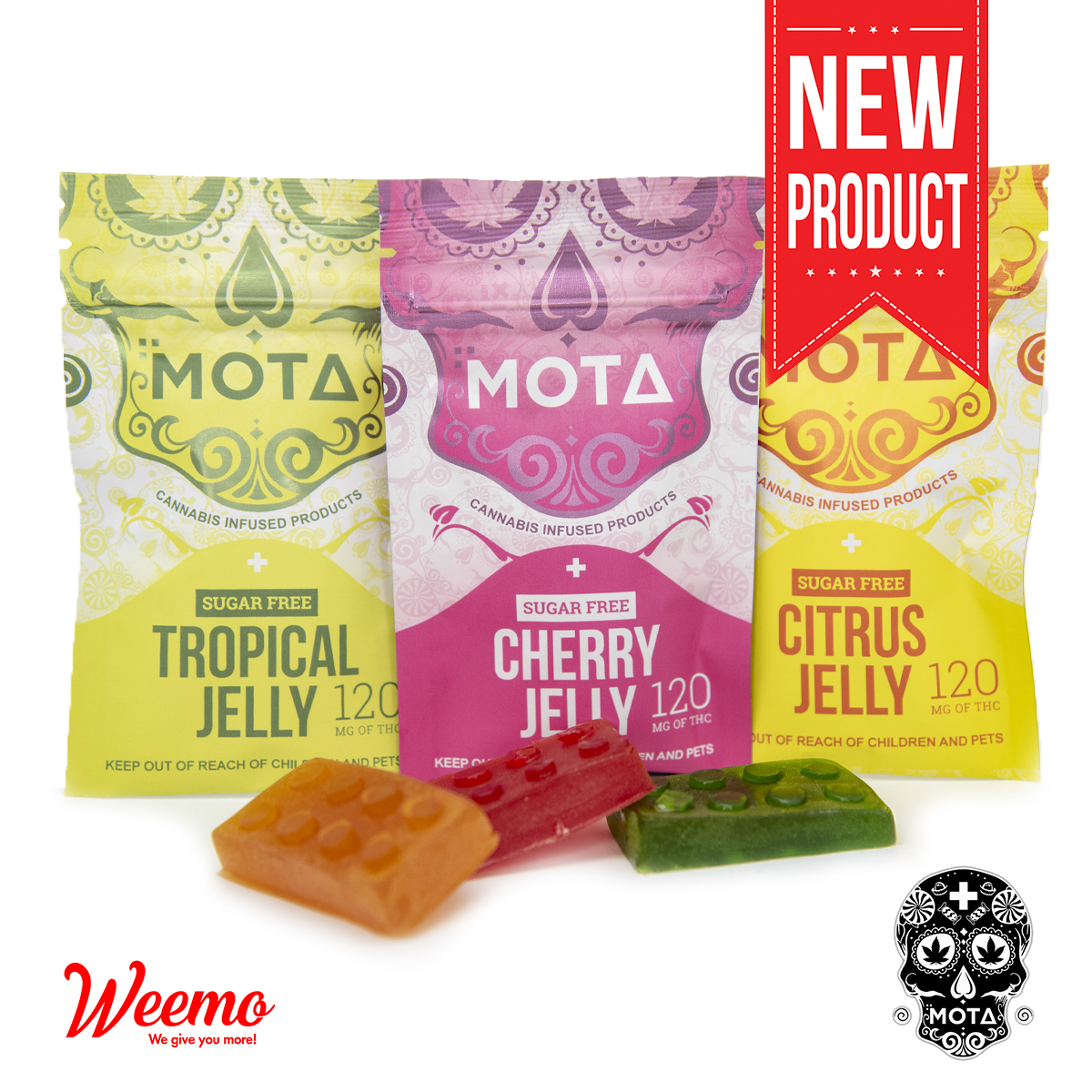 MOTA Sugar Free Jelly by Weemo - Image © 2019 Weemo. All Rights Reserved.